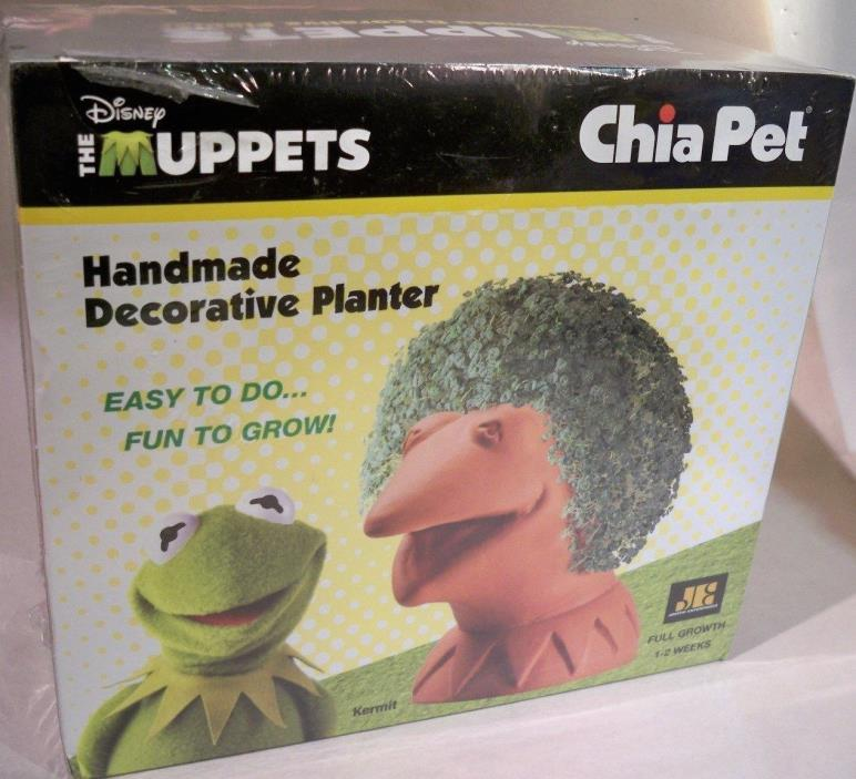 Disney The Muppets Chia Pet Kermit The Frog