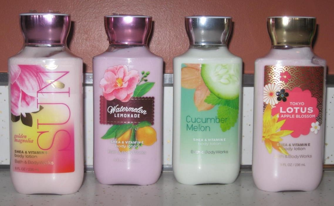 Bath & Body Works Body Products!!!  FREE SHIPPING!!!  RECENTLY DISCOUNTED!!!