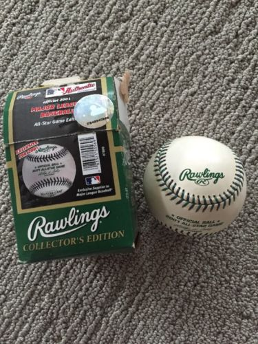 Brand New Major League Baseball Official Ball 2001 All-Stat Game Rawlings