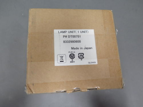 Replacement DT00751 Bulb Cartridge for Hitachi CP-X260 CPX260 Projector Lamp