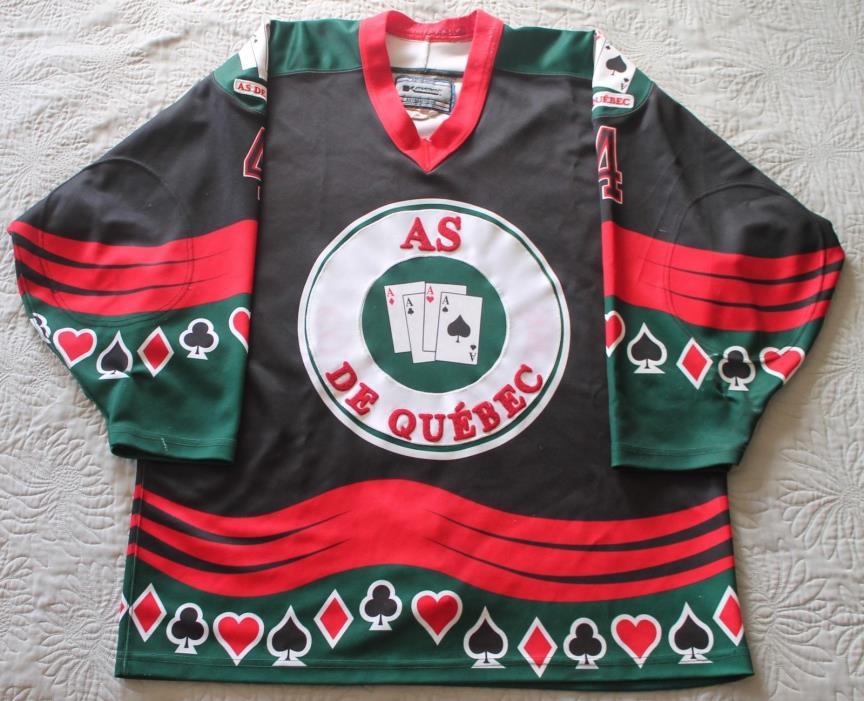 Quebec Aces Game-Used Jersey QSPHL Quebec Semi-Pro Hockey League