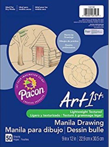 Drawing Paper Art Manila 9x12 Pacon 9