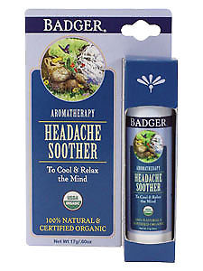 W.S. Badger Company, Headache Soother .60 oz Stick