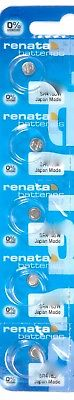 Renata 365 (SR1116W) Cell Battery 0% Mercury 5-Pack - Authorized Seller!