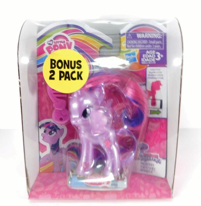 New My Little Pony Bonus 2-Pack Princess Twilight Sparkle & Cherry Berry Toy