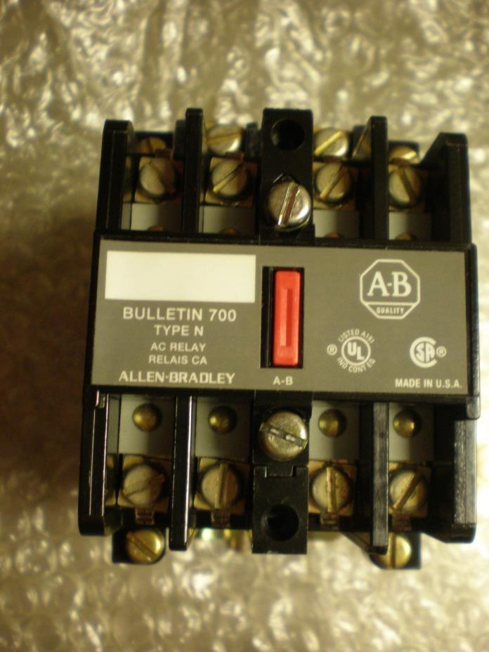 Allen Bradley 700-N400A1 Industrial Control System AC Relay