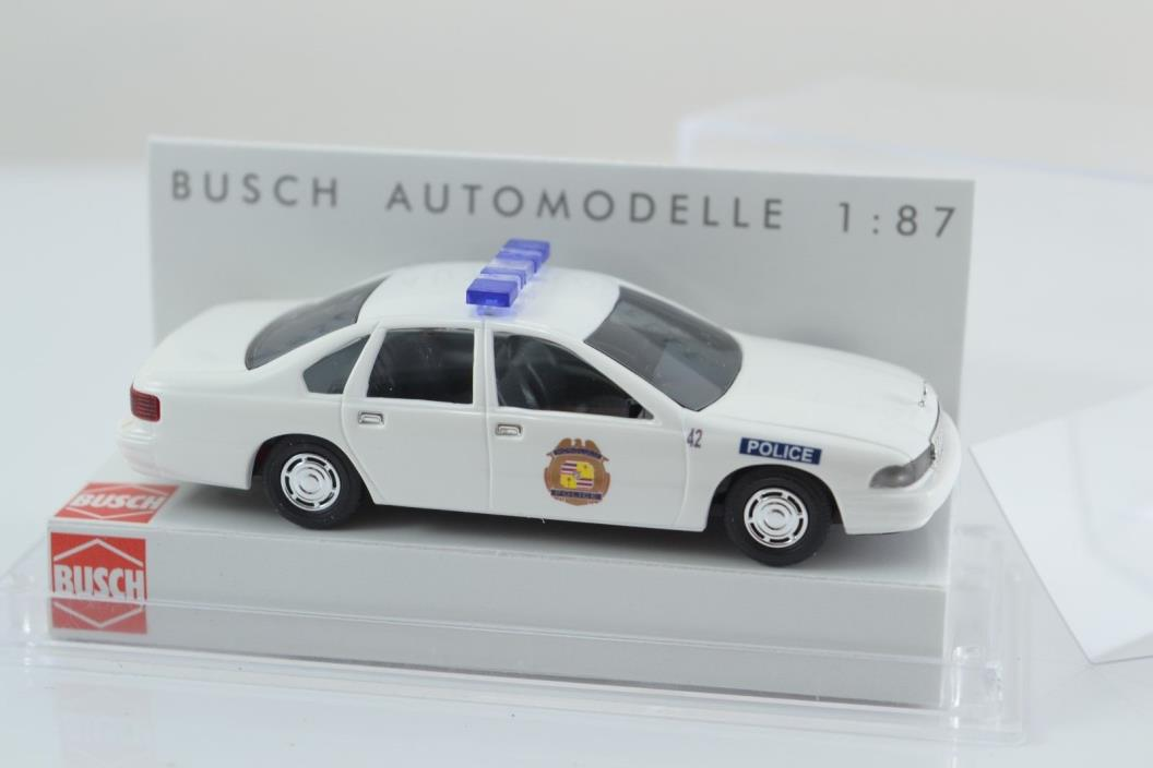 Busch 47626 HONOLULU POLICE HO Scale 1:87