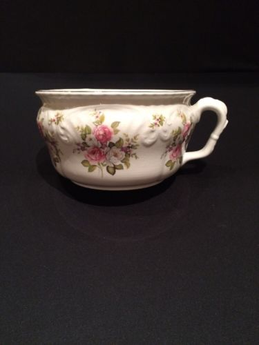 EXTREMELY RARE VINTAGE - James Kent Staffordshire Old Foley Chamber Pot
