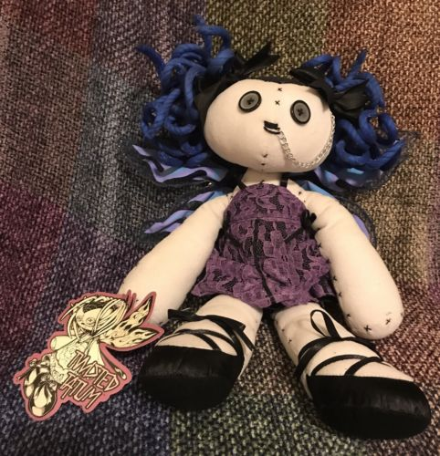 RARE Gothic Hot Topic Doll - Twisted Tatum - with tag