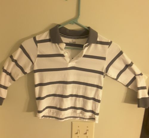 YOUNG BOYS SIZE 4T  100% COTTON FINEST QUALITY PLACE, LONG SLEEVE SHIRT