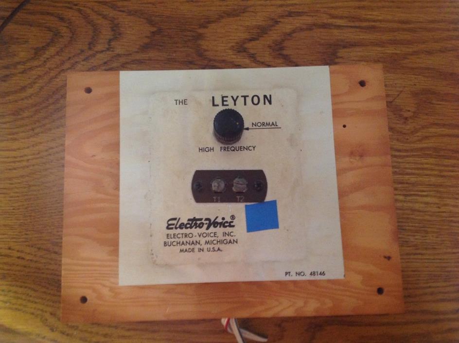 ELECTRO VOICE 'THE LEYTON' CROSSOVER