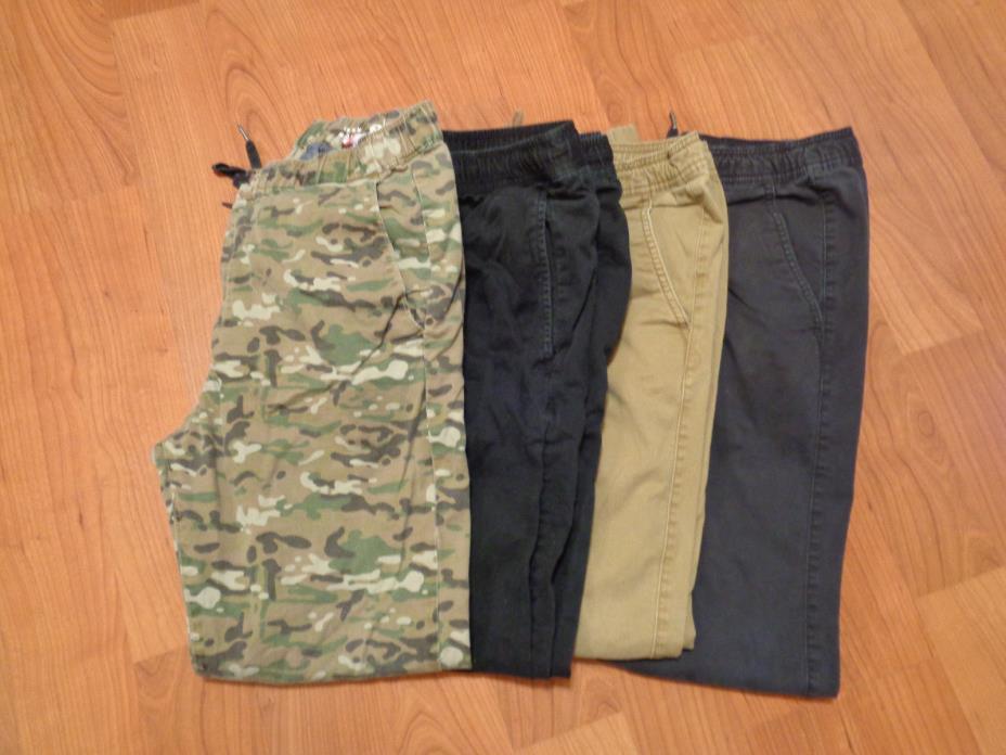 4 Pairs Joggers Bullhead Tony Hawk AE Mens Size Medium Slim Leg EUC