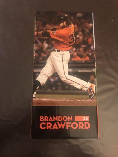 San Francisco Giants Brandon Crawford Bobblehead Giant Race 2016 NIB