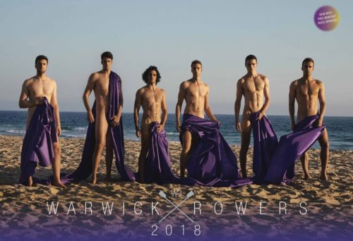 The Warwick Rowers 2018 Calendar - NEW