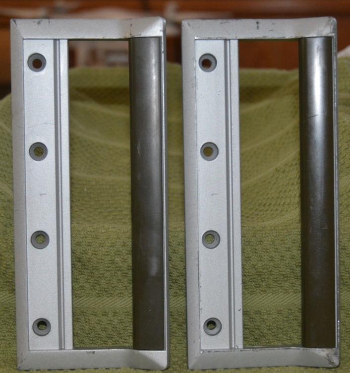 Pair of Hewlett Packard Test Equipment Front Handles 6.75