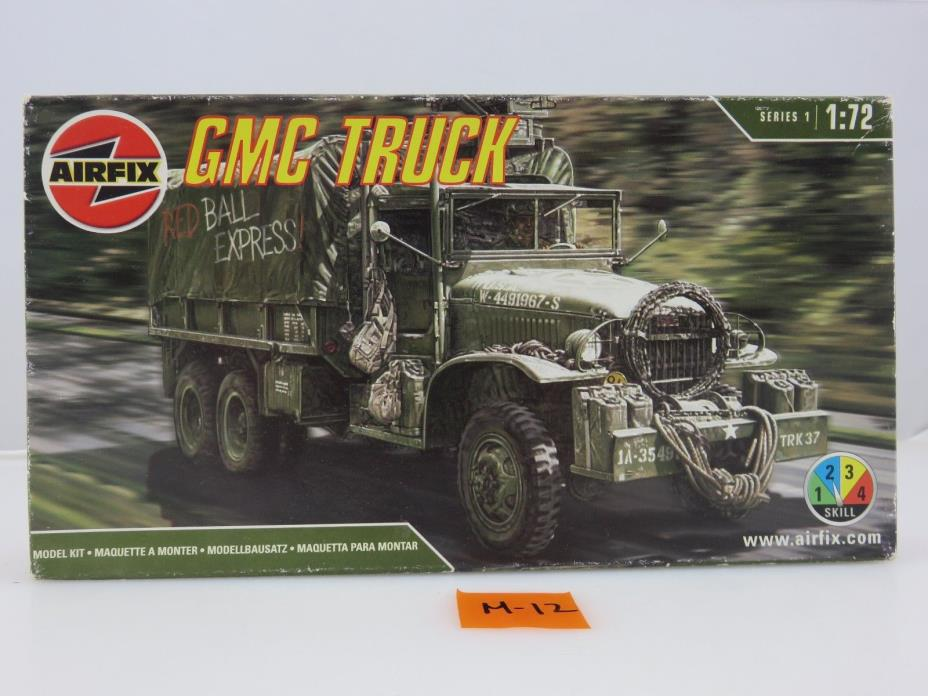 Airfix GMC Truck 1/72 Scale Plastic Model Kit SEALED