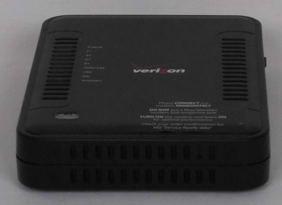 Westell Model 7500 ADSL2 Wireless / 4-Port Ethernet Gateway Router A90-750015-07