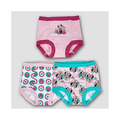 Toddler Girls' Disney 3pk Minnie Training Pants