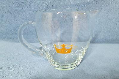 Chivas Regal Scotch Whisky 16 oz Glass Barware Mixing Pitcher 4 1/4