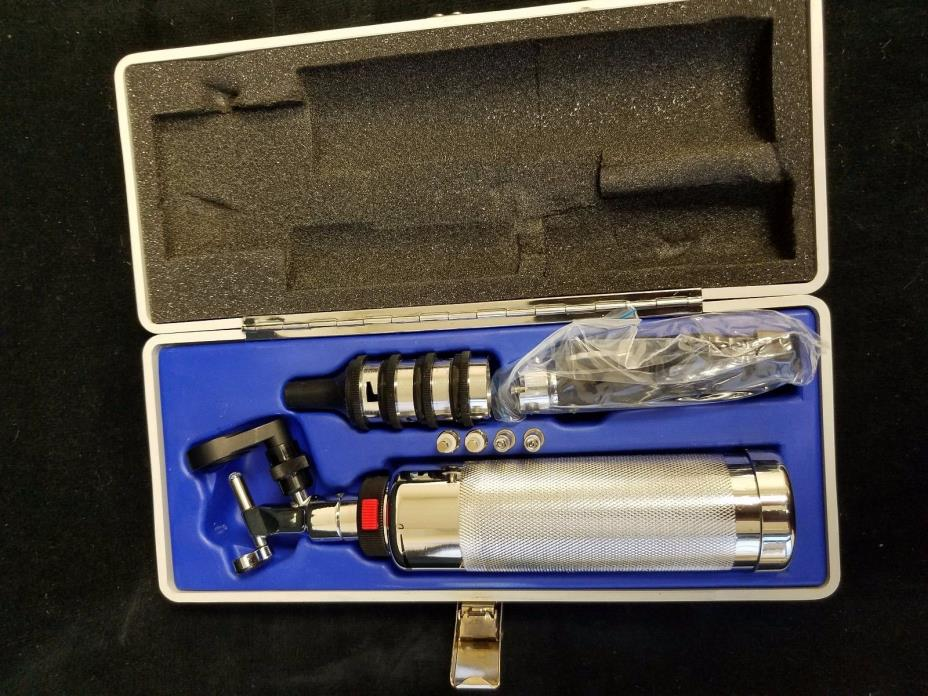 Otoscope and Ophthalmoscope,  Riester Aesculap With Case