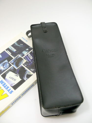 Genuine Nikon SS-16 Soft Faux Leather Flash Case/Pouch for SB-16 16A 16B