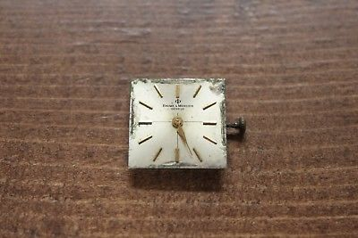 Vintage Baume Mercier watch movement cal. BM775 ETA 2510 for parts or repair