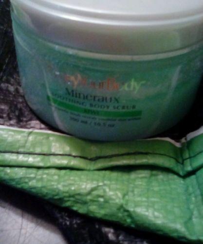 Obey Your Body Ultra-gentle Soothing Body Scrub - Kiwi, 300ml