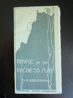 Antique Envelope Books #2 RHYME of the DUCHESS MAY Elizabeth Barret Browning
