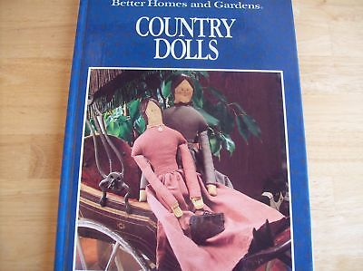 Better Homes & Gardens Country Dolls Hardback Book