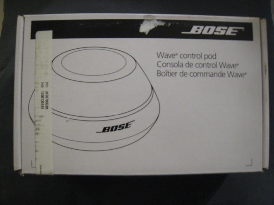 BOSE Wave Control Pod - NEW IN BOX!