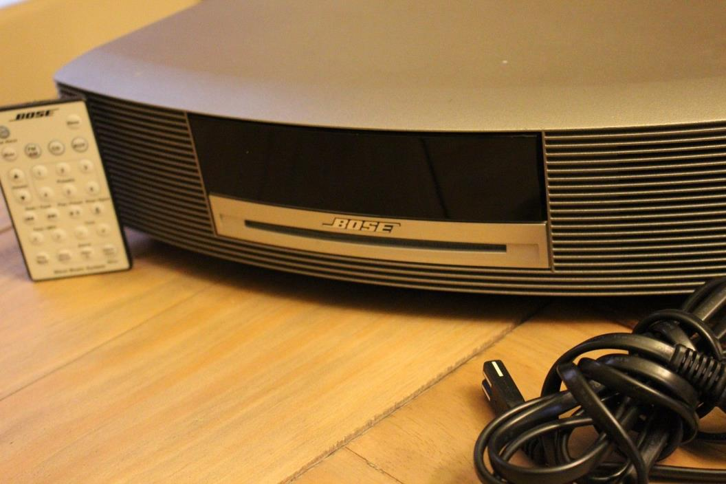 Bose Wave II AM/FM Radio & CD Player (Platinum Gray) With Remote FREE SHIPPING!!