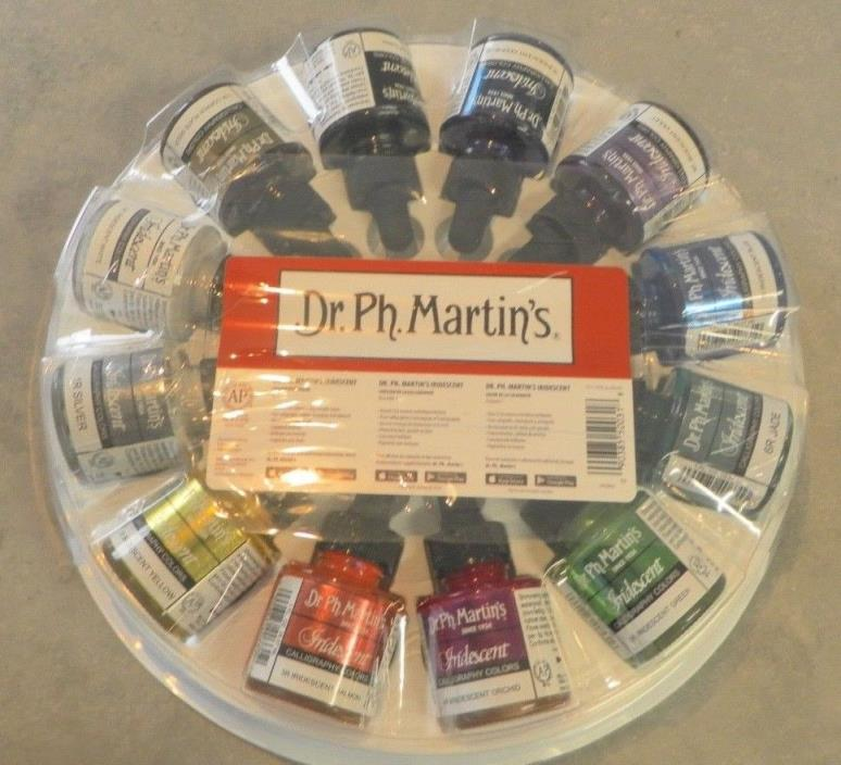 BRAND NEW DR. PH. MARTIN'S IRIDESCENT CALLIGRAPHY COLOR 12 COUNT