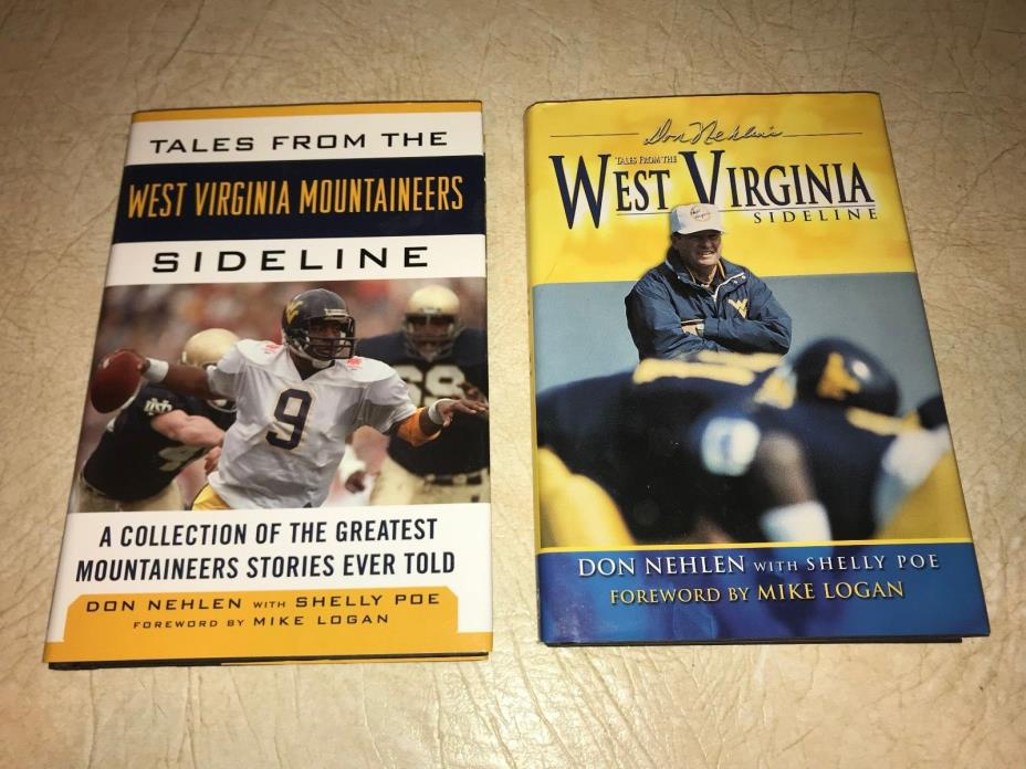 West Virginia Sidelines-Don Nehlen Books