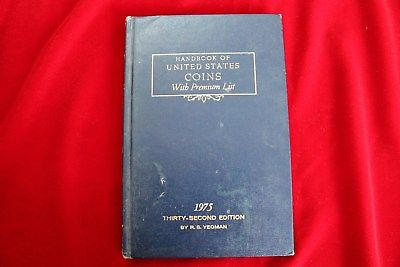 3- HANDBOOK OF UNITED STATES COINS, BLUE BOOKS, 1975,1977 & 1981, USED BOOKS,