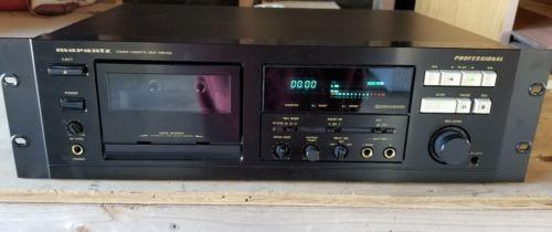 Marantz-Pmd 502 professional stereo cassette deck...
