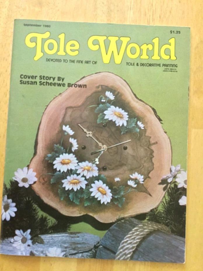 Tole World November 1980