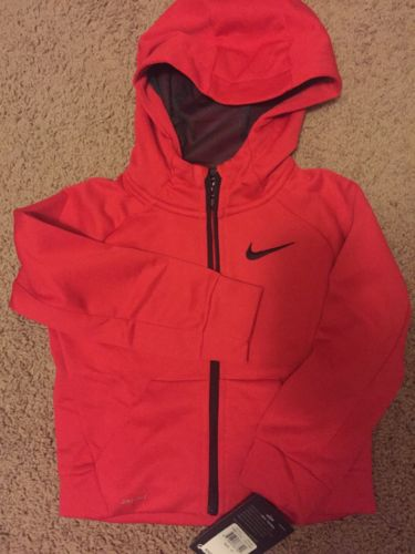 Nwt $44 Toddler Nike Therma Dri Fit Zip Hoodie