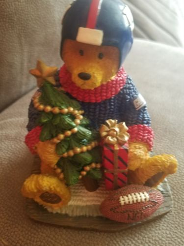 New York Giants Football Bear 2002 memory lane NFL first in series