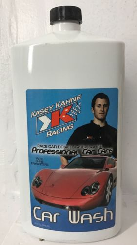 Kasey Kahne Race Car Driver Professional Car Wash Care With Shine Enhancement