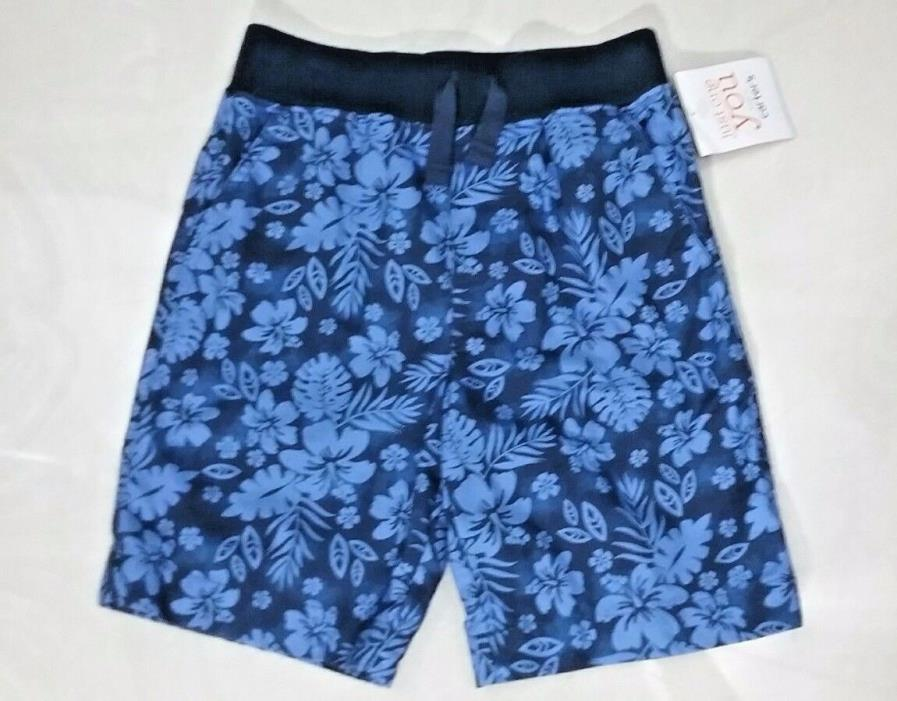 Just One You Made By Carters Toddlers 4T Tropical Hawaiian Hibiscus Print Shorts