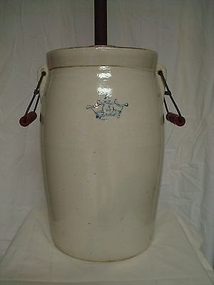 Vintage Antique Stoneware Butter Churn Dasher