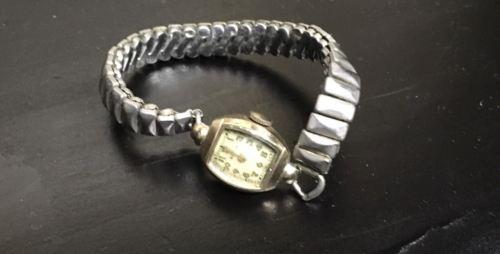 Vintage Bulova Ladies 10K Gold Filled Wristwatch Parts or Repair