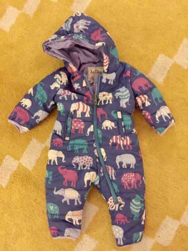 Hatley Puffer Snow Suit Size 12-18 Months