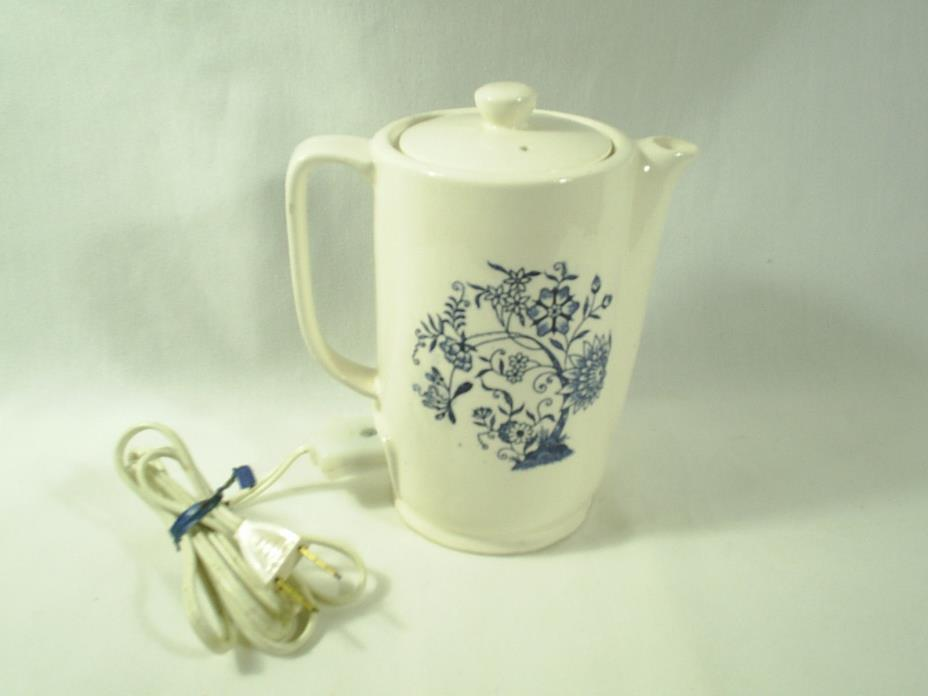 Vintage Electric Ceramic Teapot Made In Japan Gadget