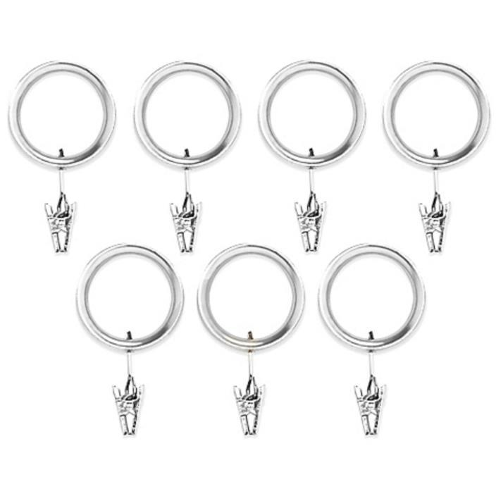 Umbra Esquire Nickel Clip Rings (Set of 7)