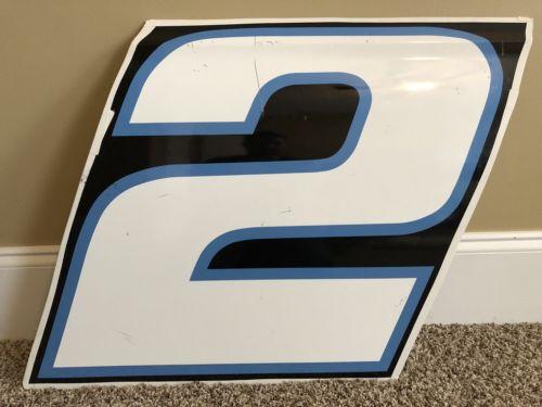 Brad Keselowski Race Used Sheet Metal Door Panel 2017