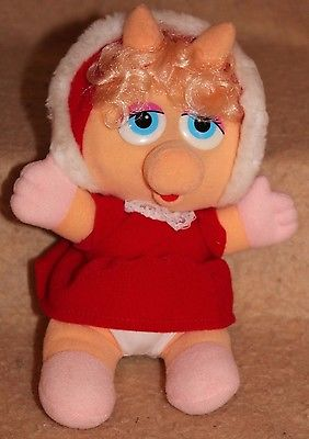 Vintage Baby Miss Piggy in Red Coat