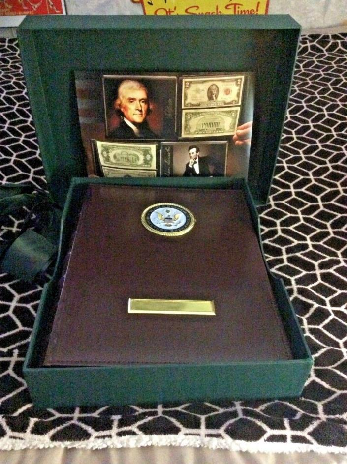 World Reserve Monetary Exchange Official Money Ledger for US Currency 2006 W Box