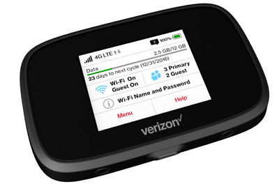 GOOD Condition Novatel Jetpack 7730L-(Verizon) 4G LTE Mobile Hotspot MiFi-nc