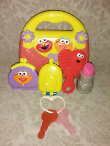 Sesame Street My First Purse with 5 Sesame Street Accessories ?? SO CUTE ??